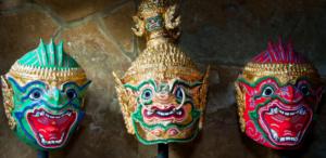 Thai-Orchid-Masks